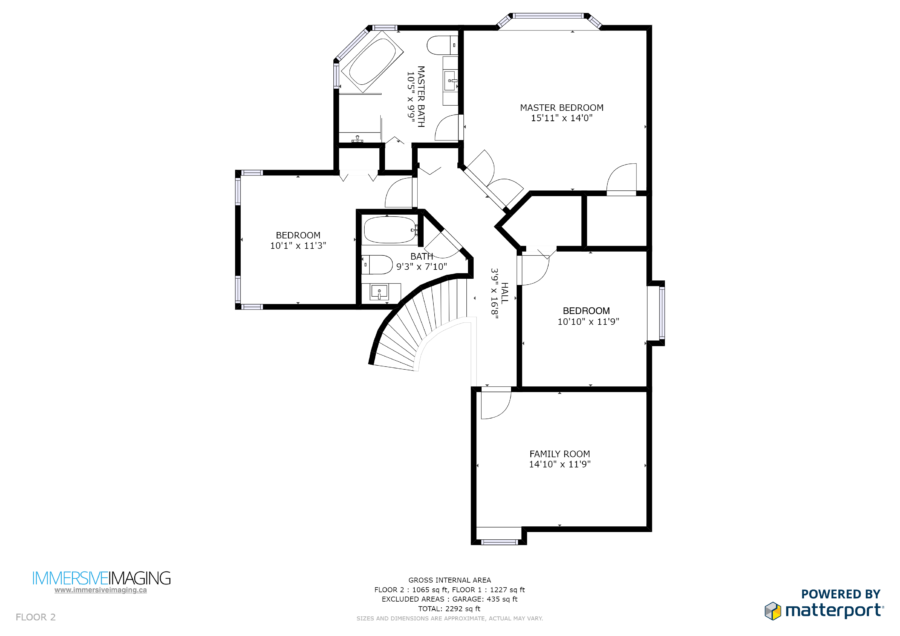 For Convenience To The Realtor, Square Footage Of Rooms, Floors And Whole  Spaces Is Calculated. *Calculations Are Based On The Area Captured By The  ...